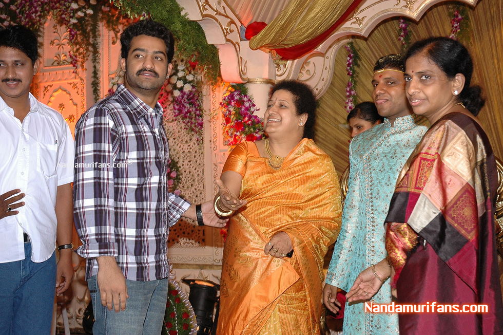 BVSN Prasad's son reception - 01 - Click on images to enlarge