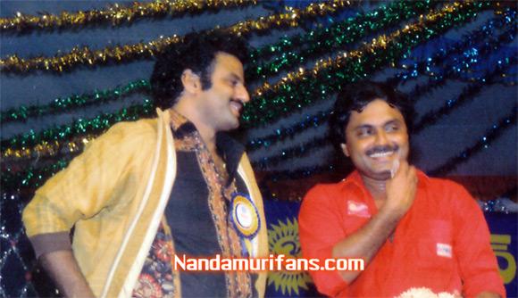 S. Gopal Reddy with Balakrishna