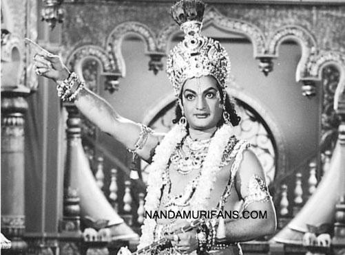NTR as Krishna
