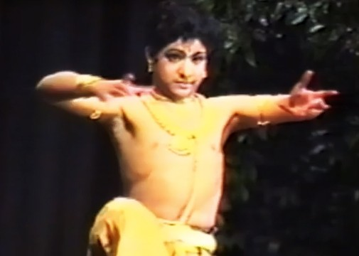 Rare Video of NTR Jr. Classical Dance Performance