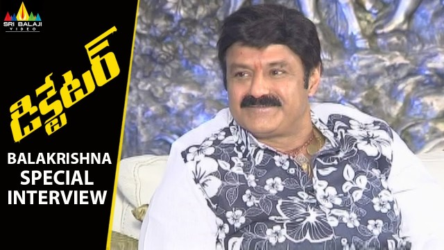 Balakrishna New Year Special Interview about Dictator