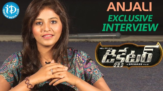 Anjali on Dictator