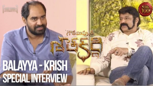 Balakrishna and Krish Special Interview on Gautamiputra Satakarni