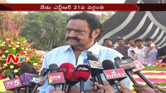 Nandamuri Family pays tribute at NTR Ghat
